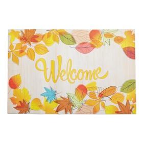 Коврик для дома «Welcome», 38×58 см Ош