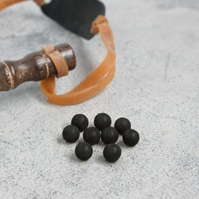Набор шариков для рогатки d=10мм (100шт) из глины Ош