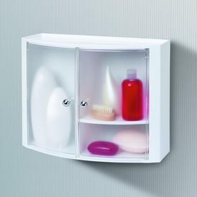 Шкафчик для ванной, 32 х 43 х 17 см, прозрачный натуральный Ош
