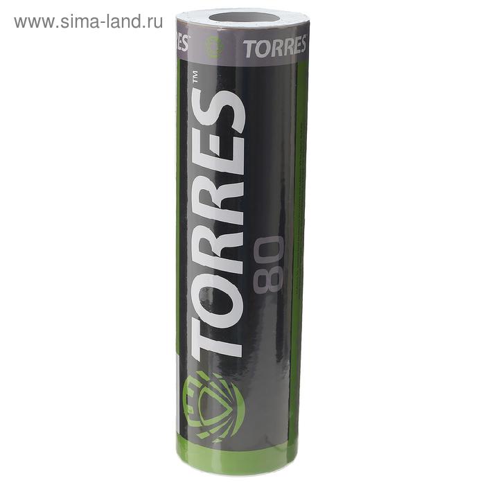 Воланы для бадминтона TORRES 80, упаковка 6 шт