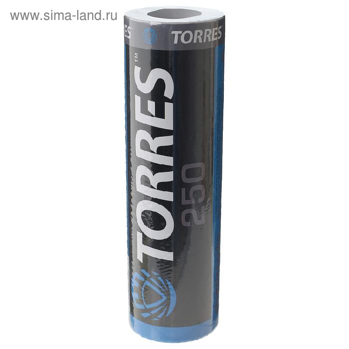 Воланы для бадминтона TORRES 250 (нейлон/пробка), арт. BD-109, уп.6шт.белый, сред.скор.