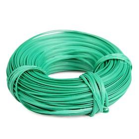 Проволока подвязочная, 50 м, толщина 2 мм, зелёная Ош