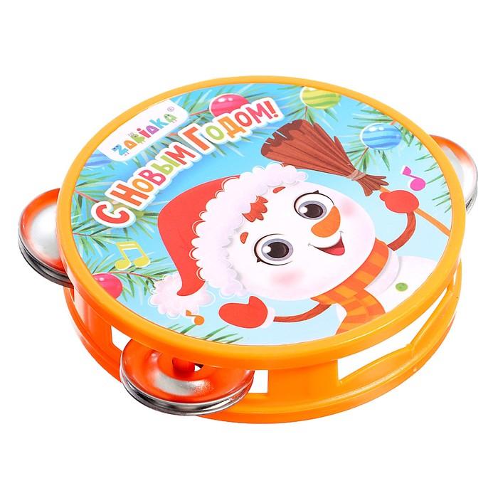 Музыкальная игрушка Бубен С Новым годом