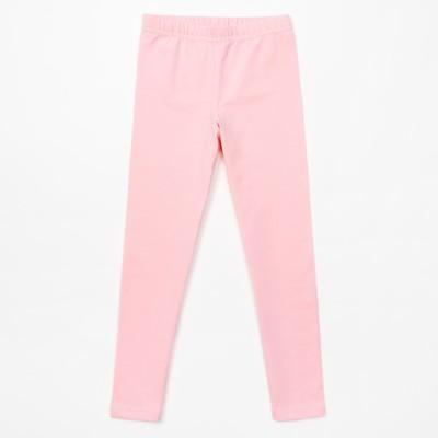 Брюки (легинсы) для девочки, розовые, р-р 38 (146-152 см) 11-12л., 100% хлопок