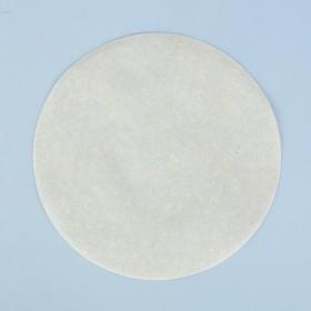 Салфетка для торта круглая, пергамент, 18,9 см
