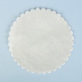 """Салфетка для торта """"Ромашка"""", пергамент, 18 см"""