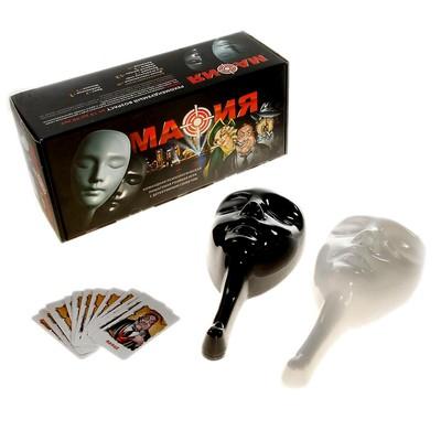 Подарочный набор «настольная игра Мафия», 10 масок