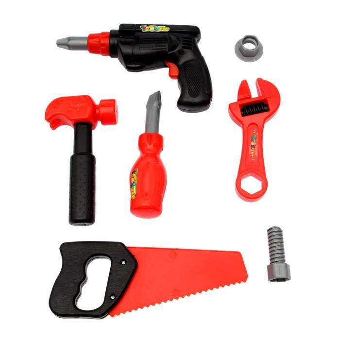 Набор инструментов Строитель-3, 7 предметов