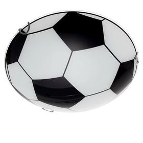 Светильник настенно-потолочный 'Мяч' 2 лампы E27 40Вт д.300 h.5,5 см. Ош