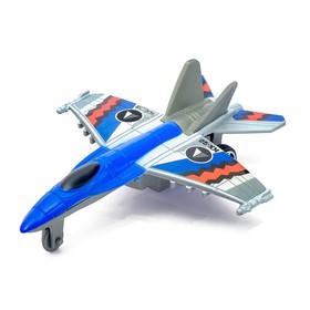 Самолёт инерционный «Истребитель», цвета МИКС Ош