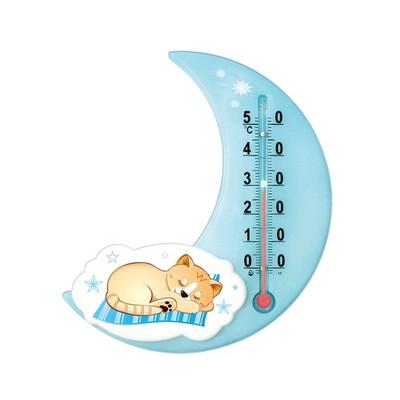 Термометр универсальный детский, цвет голубой, рисунок МИКС