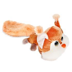 Мягкая игрушка «Белочка Ника», лежачая, 25 см