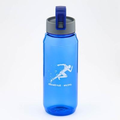 """Бутылка для воды """"Заряд энергии"""", 850 мл , 23 х 7 см, микс - Фото 1"""