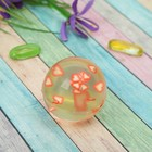 Мяч каучуковый «Сердечки», 4,5 см