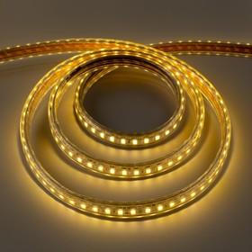 Светодиодная лента ЯРКАЯ 220В,SMD5630, 100 м, IP68, 120 LED, 25 Вт/м,35 Лм/LED, AC, Т. БЕЛЫЙ   32957