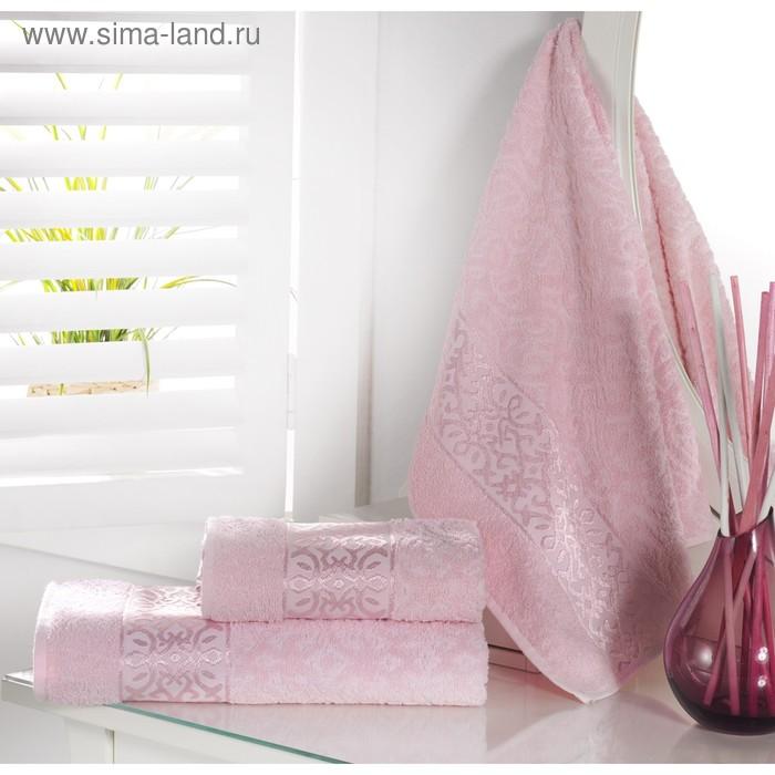 Полотенце Sahra, размер 50 × 90 см, розовый