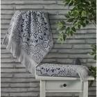 Полотенце Duru, размер 50 × 90 см, серый