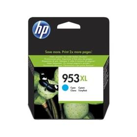 Картридж струйный HP 953XL F6U16AE голубой для HP OJP 8710/8715/8720/8730/8210/8725