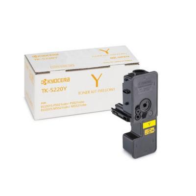 Тонер Картридж Kyocera 1T02R9ANL1 TK-5220Y желтый для Kyocera M5521cdn/cdw P5021cdn/cdw