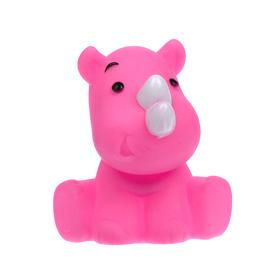 Игрушка для ванны «Носорожек», цвета МИКС