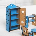 Набор деревянной мебели для кукол «Гостиная» - Фото 3