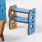 Набор деревянной мебели для кукол «Гостиная» - Фото 4