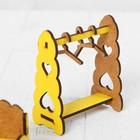 Набор деревянной мебели для кукол «Спальня» - Фото 5