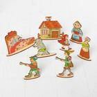 Кукольный театр сказки на столе «Красная шапочка» высота фигурок: 4-12 см - Фото 2