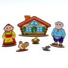 Кукольный театр сказки на столе «Курочка Ряба» - Фото 3