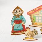 Кукольный театр сказки на столе «Курочка Ряба» - Фото 4