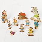 Кукольный театр сказки на столе «Семеро козлят» - Фото 2