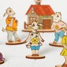 Кукольный театр сказки на столе «Семеро козлят» - Фото 3