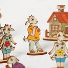 Кукольный театр сказки на столе «Семеро козлят» - Фото 4