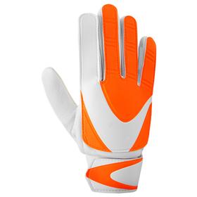 Перчатки вратарские, размер 6, цвет оранжево-белый Ош