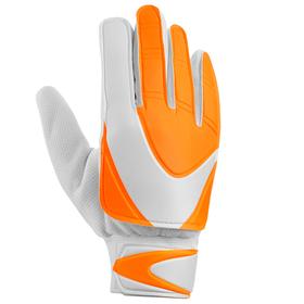 Перчатки вратарские, размер 8, оранжево-белый Ош