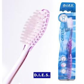 Зубная щётка D.I.E.S Кристалл, мягкая, 1 шт. МИКС