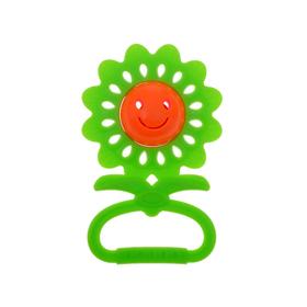 Погремушка «Цветочек», цвета МИКС