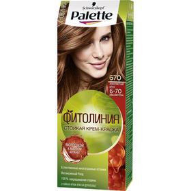 Краска для волос Palette Фитолиния, тон 670 золотистый орех