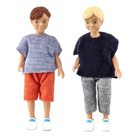 Кукла для домика «Два мальчика»
