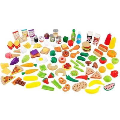 Игровой набор еды «Вкусное удовольствие», 115 элементов - Фото 1