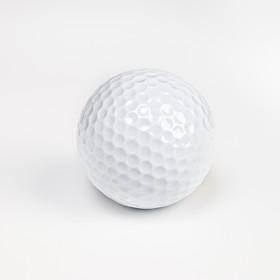 Мяч для гольфа, 2-х слойный, 420 выемок, d=4.3 см, 45г Ош
