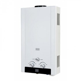 Водонагреватель Edisson H 20 D, 20 кВт, газовый, проточный, белый