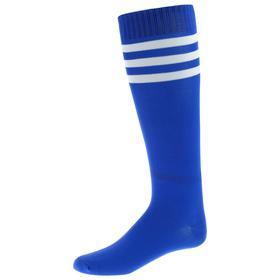 Гетры футбольные, безразмерные, цвет синий Ош