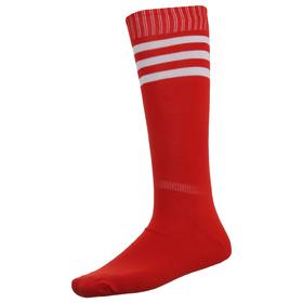 Гетры футбольные, размер 38-39, цвет красный Ош