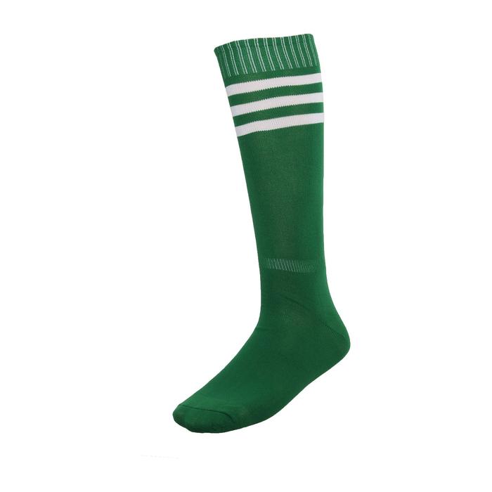 Гольфы футбольные, размер 38-39, цвет зелёный