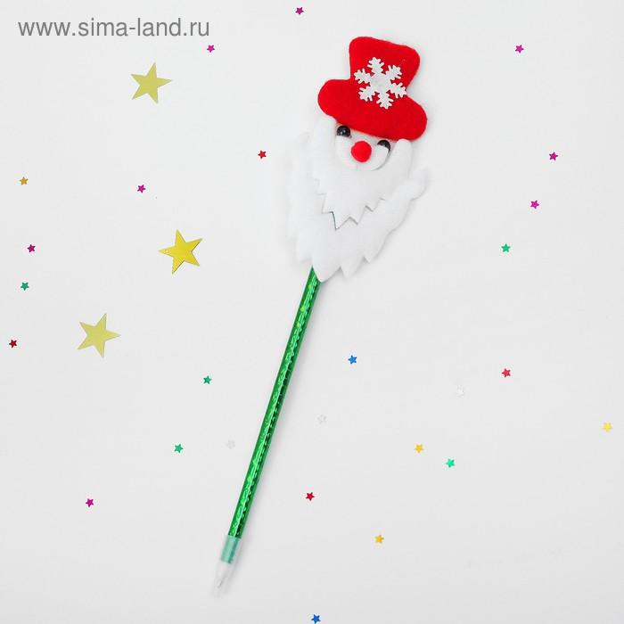 Ручка «Дед Мороз», со снежинкой