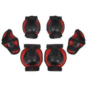 Защита роликовая, размер М, цвет красный Ош