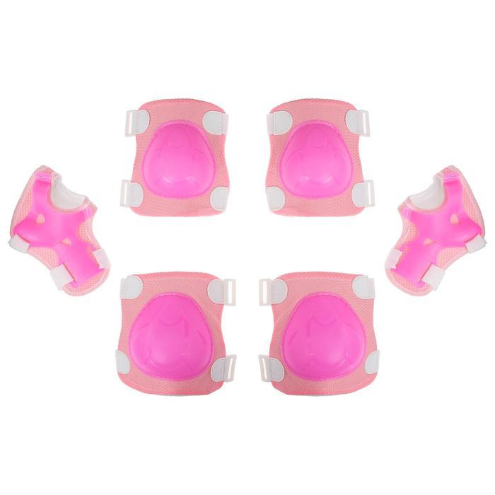Защита роликовая OT-2017, размер универсальный, цвет розовый