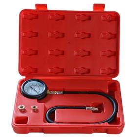 Тестер давления масла AE&T TA-G1008, 0-100 PSI, адаптеры 1/8', 1/4', 3/8' Ош