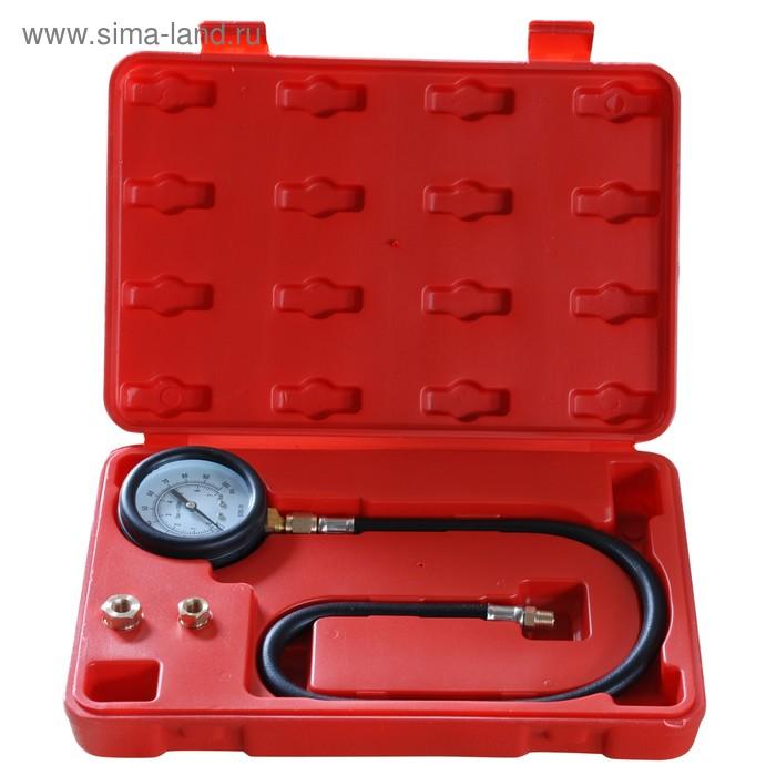 """Тестер давления масла AE&T TA-G1008, 0-100 PSI, адаптеры 1/8"""", 1/4"""", 3/8"""""""